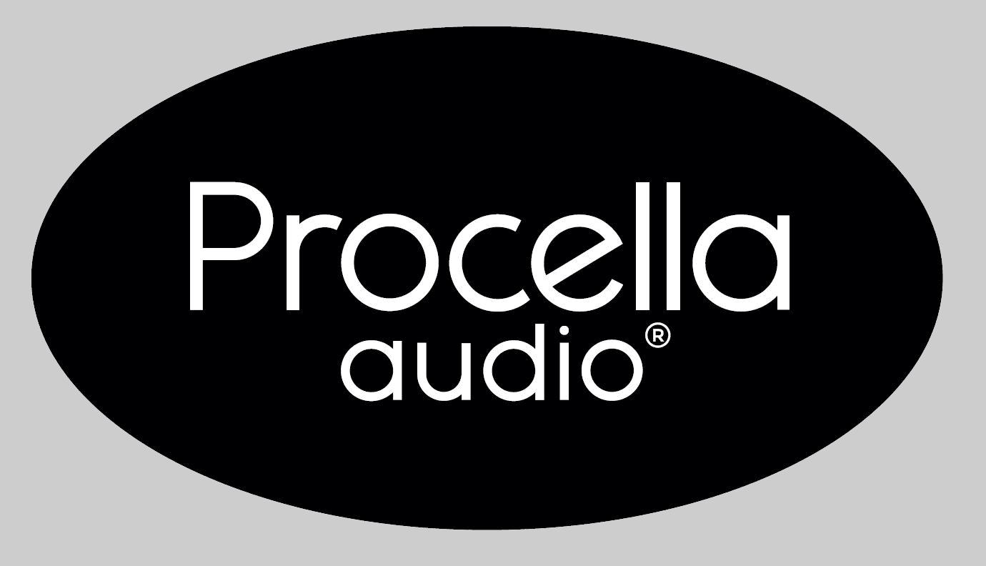 Procella black oval
